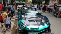 """Dàn siêu xe đắt đỏ của nhà giàu Việt tụ tập về Bình Dương mừng Cường """"Đô-la"""" khai trương nhà hàng thứ 3"""