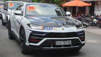"""Pagani Huayra vắng mặt, Lamborghini Urus độ Mansory làm """"cận vệ"""" cho Minh """"Nhựa"""" trong buổi rước dâu của con gái"""