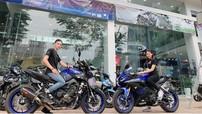 """""""Ông vua lực xoắn"""" Yamaha MT-09 có mặt tại Yamaha Town Hà Nội, giá bán 299 triệu đồng"""