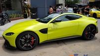 Siêu xe Aston Martin V8 Vantage 2018 của doanh nhân quận 12 tái xuất tại Bình Dương