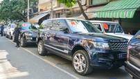 """Chi tiết đoàn Range Rover hơn 12 chiếc nối đuôi nhau tham dự rước dâu con gái của Minh """"Nhựa"""""""