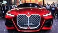 BMW Concept 4 - Cái nhìn trước của 4-Series thế hệ mới với một lưới tản nhiệt khổng lồ