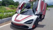 Siêu xe McLaren 720S của đoàn Car Passion vượt biên giới sang Thái Lan và Lào để đi tiền trạm Asean Rally 2020