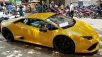 """Lamborghini Huracan độ Mansory độc nhất Việt Nam đến dự khai trương nhà hàng Cường """"Đô-la"""" với chi tiết gây chú ý"""