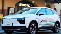 Mẫu xe điện Trung Quốc này đã vượt quãng đường 15.022 km từ quê nhà để tới dự Triển lãm Frankfurt 2019
