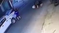 Bắc Ninh: Nhóm đối tượng đi xe bán tải để lấy cắp xe Honda SH, giấu luôn bên trong thùng xe