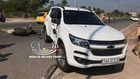 Quảng Ninh: Xe máy tông móp sườn SUV 7 chỗ Chevrolet Trailblazer, 2 thanh niên thương vong