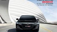 Honda Việt Nam chính thức mở cọc cho Accord 2019, giá dự kiến dưới 1,2 tỷ đồng