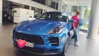 """Không lựa chọn Mercedes-Benz GLC như các đồng nghiệp khác, Chi Dân lại """"đập hộp"""" Porsche Macan"""