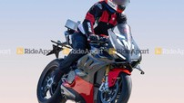 Sport bike siêu nhẹ Ducati Panigale V4 Superleggera lộ ảnh chạy thử