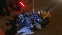 Bình Dương: Hai xe máy va chạm mạnh, văng xa hàng chục mét, đôi nam nữ thương vong