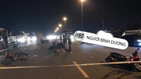 Bình Dương: 3 xe máy va chạm liên hoàn, 1 người đàn ông tử vong trên đường đi làm về