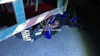 Đồng Nai: Xe container rẽ phải ở đường cấm, va chạm với xe máy khiến 1 thanh niên tử vong