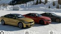 BMW cho thấy sự khác biệt giữa lốp mùa hè và mùa đông bằng đua drag