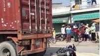 Bình Dương: Điều khiển Yamaha Exciter đâm vào đuôi xe container, nam thanh niên tử vong tại chỗ