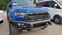 Cận cảnh xe bán tải Ford Ranger Raptor độ Hamer chính hãng hàng độc tại Việt Nam