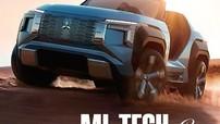SUV mui trần Mitsubishi MI-Tech lộ diện với công nghệ động cơ hiện đại
