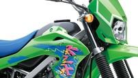 Kawasaki ra mắt bộ cánh mới theo kiểu cổ điển cho cào cào KLX150 tại Indonesia