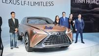 Diện kiến Crossover hạng sang Lexus LF-1 Limitless mang thiết kế lấy cảm hứng từ kiếm Nhật Katana