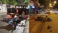 Bình Dương: 2 thanh niên đi xe côn tay cùng bị tai nạn lúc rạng sáng, tử vong thương tâm