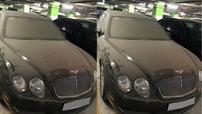 """Xe Bentley """"làm bạn"""" với bụi trong hầm đỗ xe tại Hà Nội: Vì sao lại nên nông nỗi này?"""