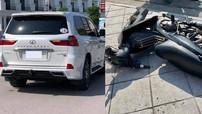 Quảng Ninh: Xảy ra va chạm với Lexus LX570 Super Sport, hai người đi xe máy ngất xỉu tại chỗ