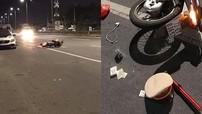 Bà Rịa - Vũng Tàu: Đang kiểm tra ô tô vi phạm, CSGT bị xe máy văng trúng người, chấn thương nặng