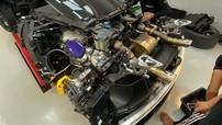 Doanh nhân Vũng Tàu trang bị ống xả độ Fi cho siêu xe McLaren 720S màu tím