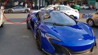 Dàn siêu xe triệu đô của nhà giàu Việt tụ tập tại Sài thành, nhiều chủ ô tô đỗ kế bên lo âu