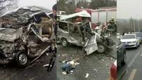 Tai nạn liên hoàn trên cao tốc khiến 8 người tử vong, 6 người khác bị thương