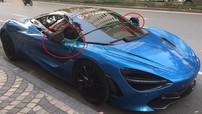 """Đây là cách chủ xe McLaren 720S tại Hà Nội bảo vệ cặp gương """"ngọc ngà"""" trước kẻ gian"""
