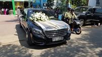 Chiêm ngưỡng dàn xe sang Mercedes-Maybach, Rolls-Royce và Lexus trong đám cưới Bảo Thy