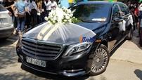 Cận cảnh xe hoa Mercedes-Maybach S600 hơn 14 tỷ đồng của chồng ca sĩ Bảo Thy
