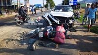 Bà Rịa - Vũng Tàu: Tai nạn liên hoàn giữa 2 ô tô và 2 xe máy, một người tử vong