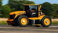 """JCB Fastrac Two - """"Siêu máy cầy"""" nhanh nhất thế giới với tốc độ kỷ lục 218,73 km/h"""