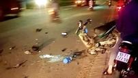 """Bình Dương: Hàng loạt xe côn tay """"rớt nài"""" trong đêm, nam thanh niên 18 tuổi tử vong tại chỗ"""