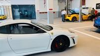 """Dàn siêu xe Ferrari của nhà giàu Việt lần đầu đi """"khám bệnh"""" chính hãng"""