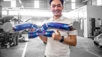 """Câu chuyện đằng sau ống xả hàng thửa của McLaren 720S do Đàm Thu Trang tặng cho Cường """"Đô-la"""""""