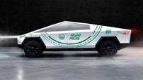 Xe bán tải chống đạn Tesla Cybertruck vừa ra mắt, cảnh sát Dubai đã nhanh tay đặt mua một chiếc