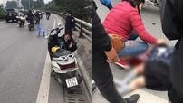 Hà Nội: Truy tìm tài xế xe bán tải nghi va quệt với xe máy khiến 1 cháu bé tử vong
