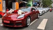 Dàn xe sang tham dự vào đám cưới ở Huế, gây chú ý lại là Lexus RX450H