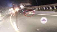 Lạng Sơn: Xe container cán chết người, tài xế chẳng những bỏ chạy mà còn thay lốp để xóa dấu vết