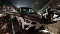 Yên Bái xuất hiện mưa đá khiến nhiều ô tô và xe máy bị hư hỏng