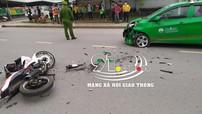 Bắc Ninh: Đối đầu với xe taxi, thanh niên điều khiển xe Yamaha Exciter 150 nguy kịch