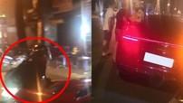 Video: Tài xế xe Porsche Panamera hất cảnh sát cơ động lên nắp capô tại Sài thành
