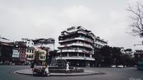 """Đường phố Thủ Đô vắng vẻ và lặng yên """"mồng 62 Tết"""" sau yêu cầu của Chủ tịch thành phố trong dịch Covid-19"""