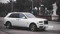 Một lần cầm lái xe triệu đô Rolls-Royce Cullinan