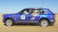 Rolls-Royce Cullinan chứng minh khả năng off-road bằng chiến thắng tại giải đua việt dã dài 2.000 km