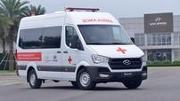 TC Motor trao tặng 10 xe Hyundai Solati cứu thương cho các cơ sở y tế tuyến đầu