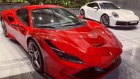 """Cận cảnh siêu xe hàng hot Ferrari F8 Tributo mới bàn giao cho Cường """"Đô-la"""""""